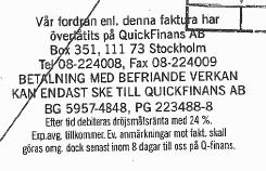 quickfinansstämpel