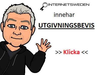 Utgivningsbevis - internetsweden.se